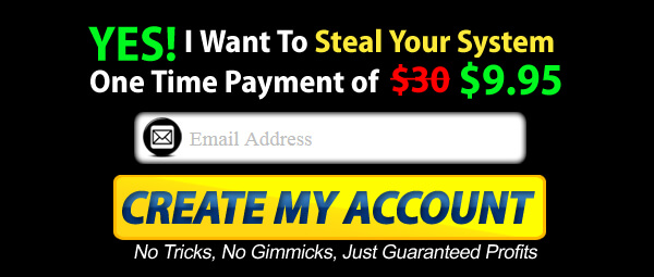 Is Steal My System a Scam - Signup Button