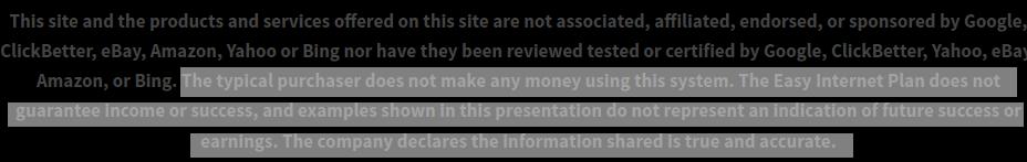 Quick Home Websites Review - No Guarantee Disclaimer