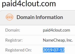 Clout Pay Review - Domain Whois