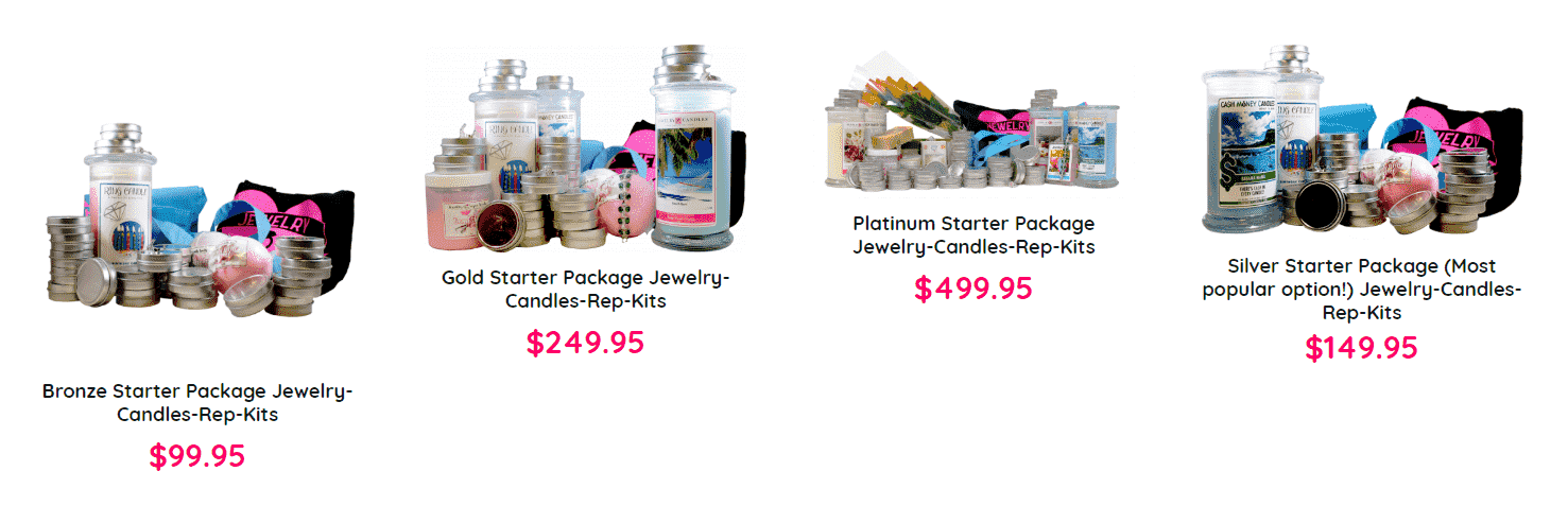 Is Jewelry in Candles a Scam - Product Line for Reps