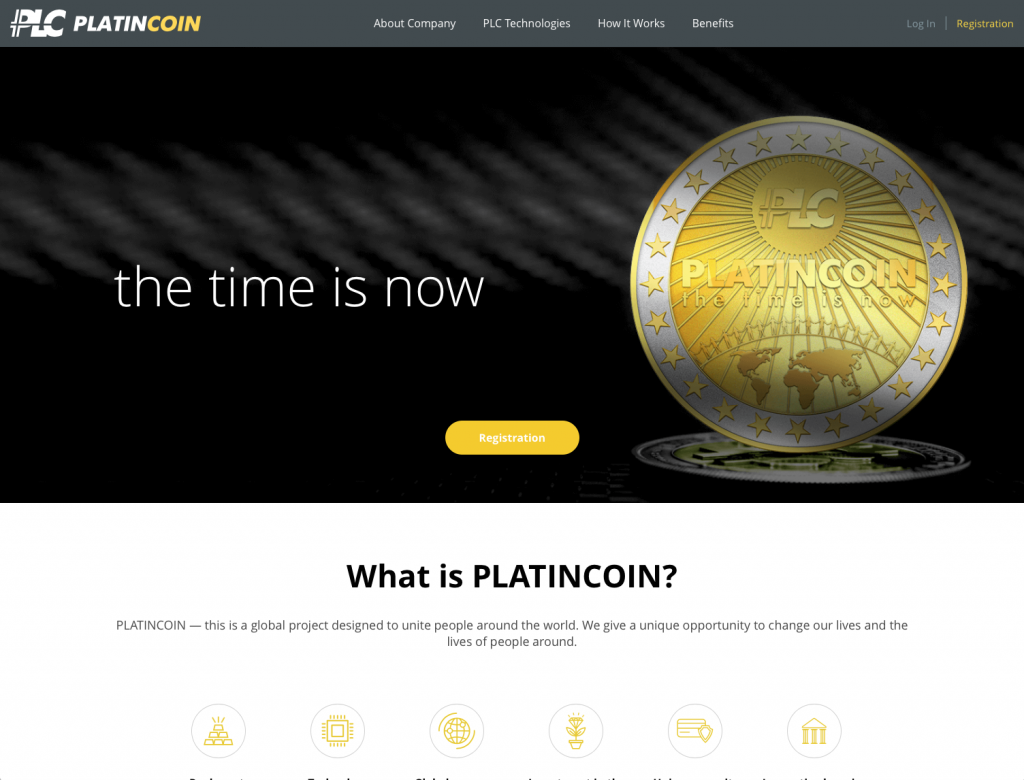 Is Platincoin a Scam - Featured Landing Page