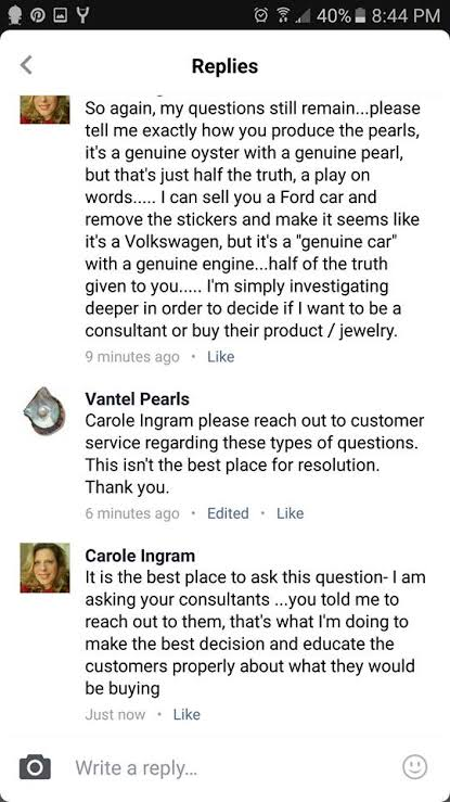 Is Vantel Pearls a Scam - More Questions About Their Pearls