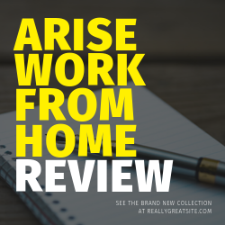 Arise Work From Home Review Image Summary