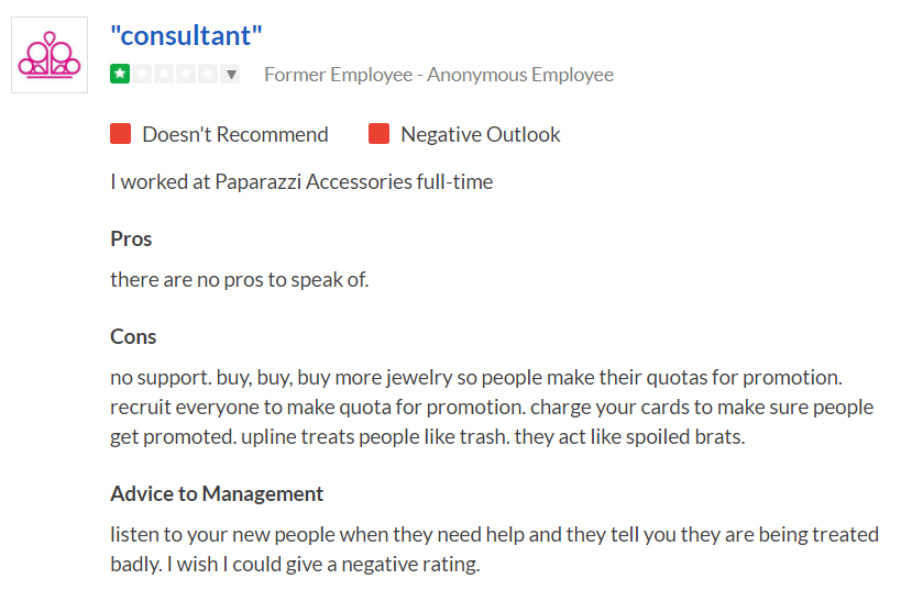 Is Paparazzi Jewelry a Scam - Consultant Feedback
