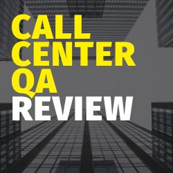 Call Center QA Review Image Summary