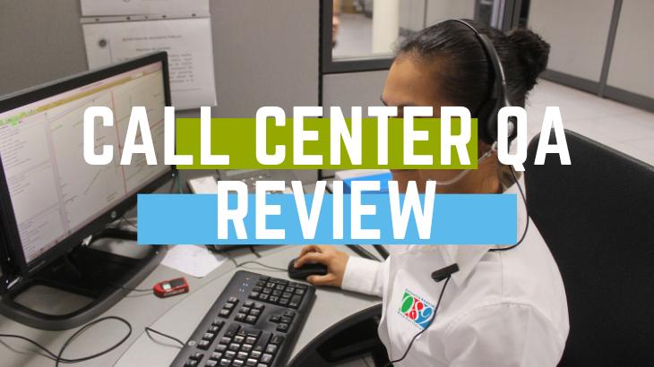 Call Center QA Review