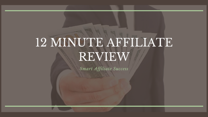 Buy 12 Minute Affiliate System  Affiliate Marketing Sales Numbers