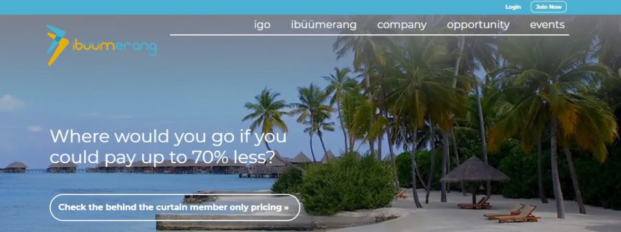 Is iBuumerang a Scam - Landing Page