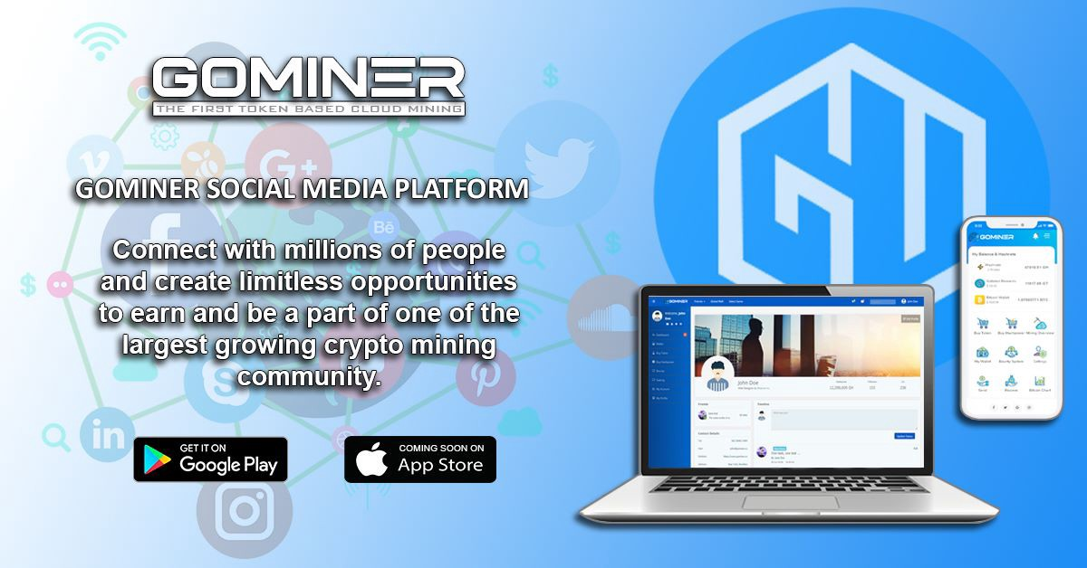 GoMiner Review - Social Media
