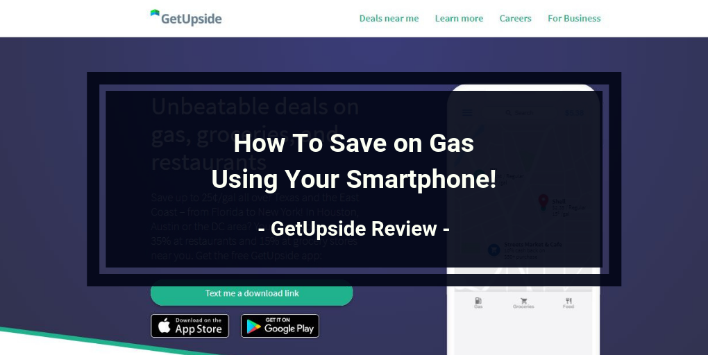 Is GetUpside a Scam - Landing Page