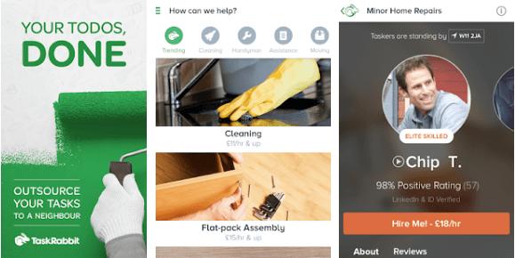 Is TaskRabbit a Scam - App Dashboard