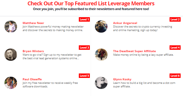 List Leverage Review - Newsletters You Sign Up For