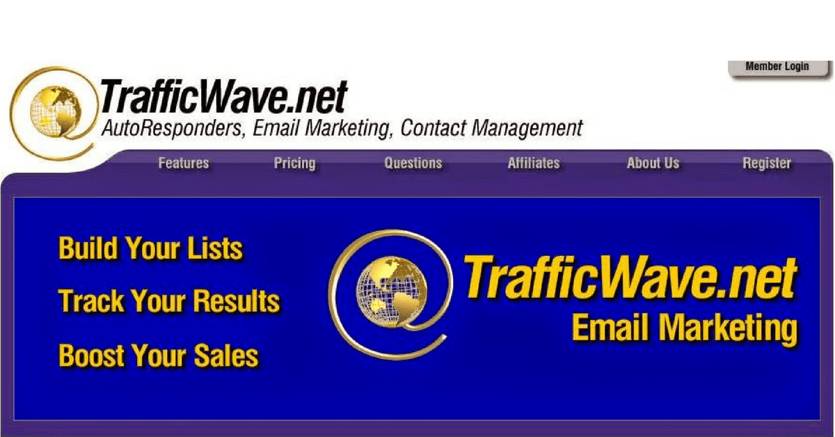 TrafficWave Review - Landing Page