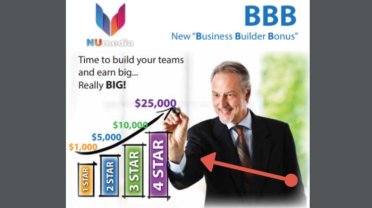 Is NuMedia a Scam - Business Builder Bonus