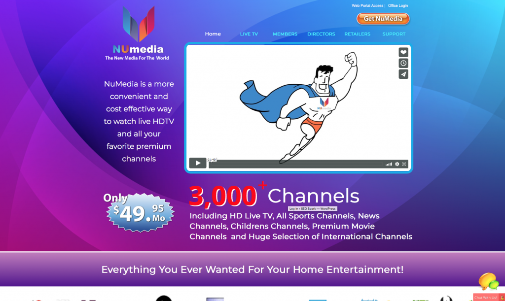 Is NuMedia a Scam - Landing Page