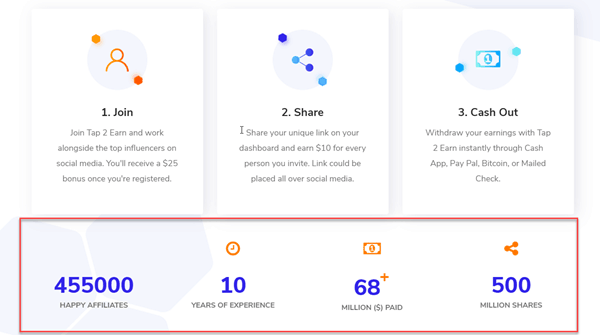 Tap2Earn Review - A Lot of Money