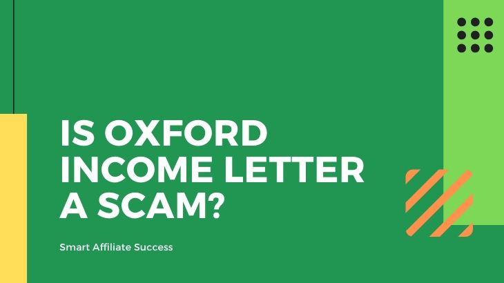 Is Oxford Income Letter a Scam