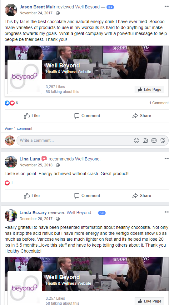 What Is Well Beyond - Product Feedback Again