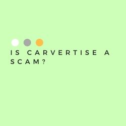 Is Carvertise a Scam Image Summary