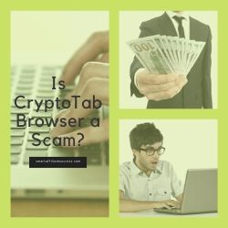 Is CryptoTab Browser a Scam Image Summary