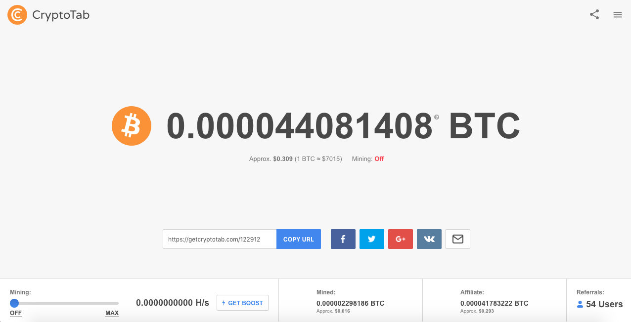 Is CryptoTab Browser a Scam - Landing Page