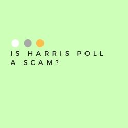 Is Harris Poll a Scam Image Summary