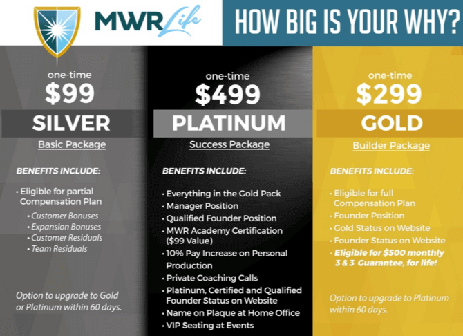Is MWR Financial a Scam - Starter Package