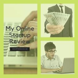 My Online Startup Review Image Summary