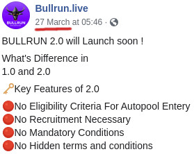 What Is BullRun - Collapse