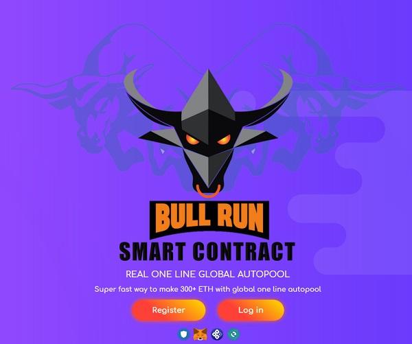 What Is BullRun - Landing Page