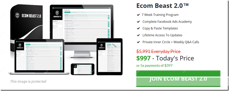 What Is Ecom Beast 20 - How Much To Join