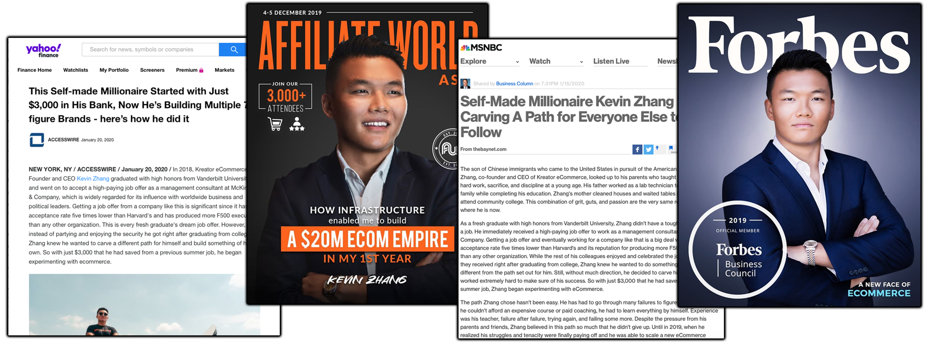 What Is Ecommerce Millionaire Mastery - Kevin Zhang