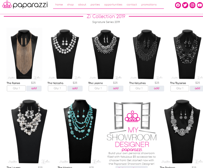 Is Paparazzi Accessories a Scam - Landing Page