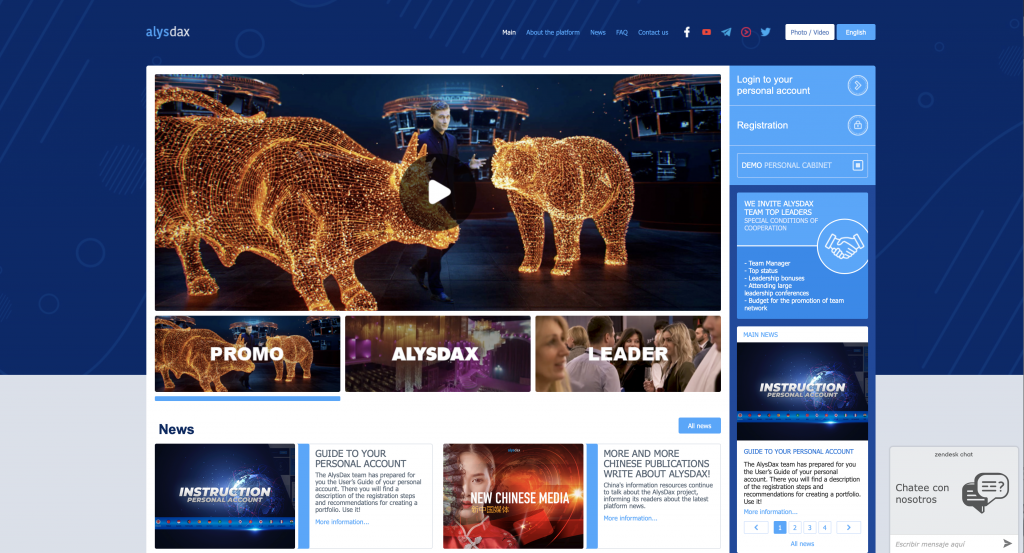 What Is Alysdax - Landing Page