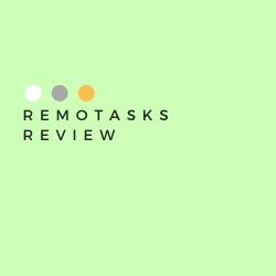 Remotasks Review Image Summary