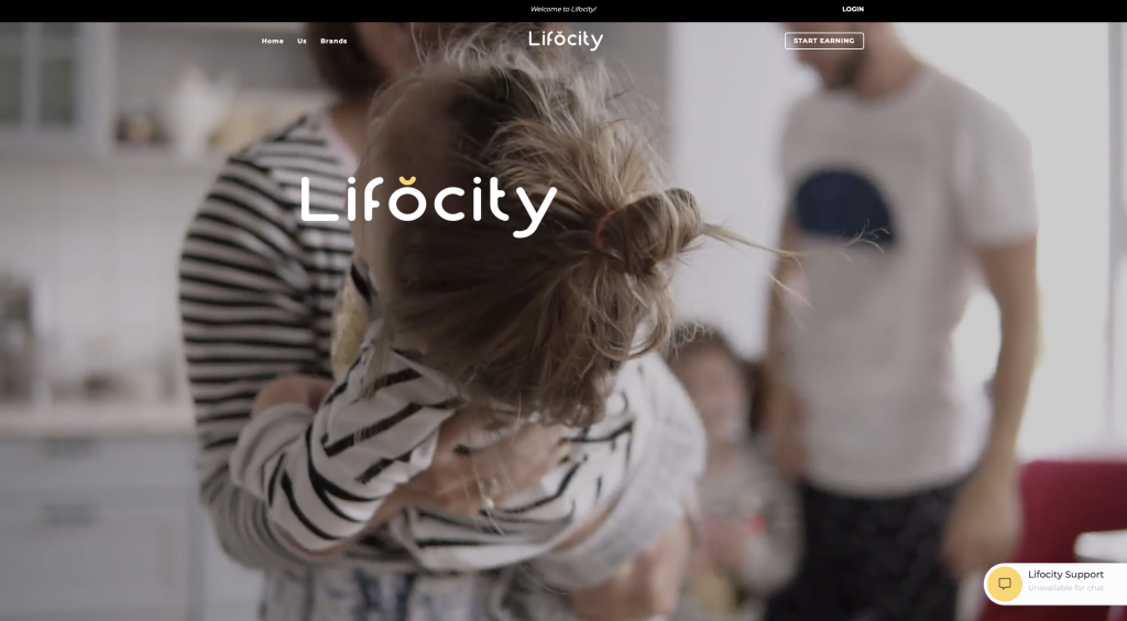 What Is Lifocity - Landing Page