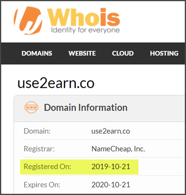 What Is Use2Earn - Actual Start Date