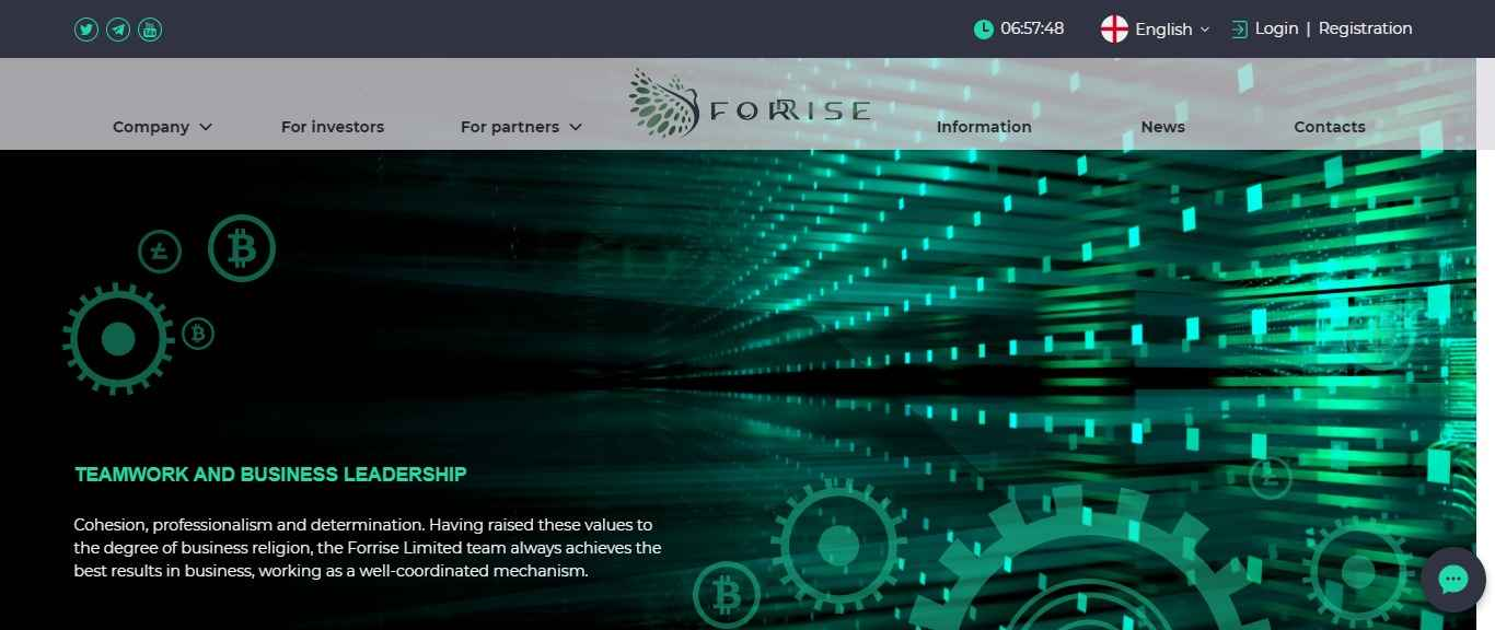 What is Forrise - Landing Page