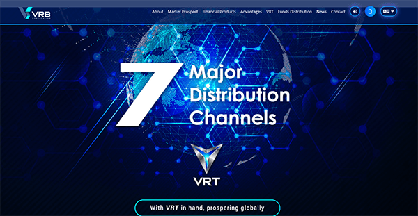What Is VRB Corporation - Landing Page