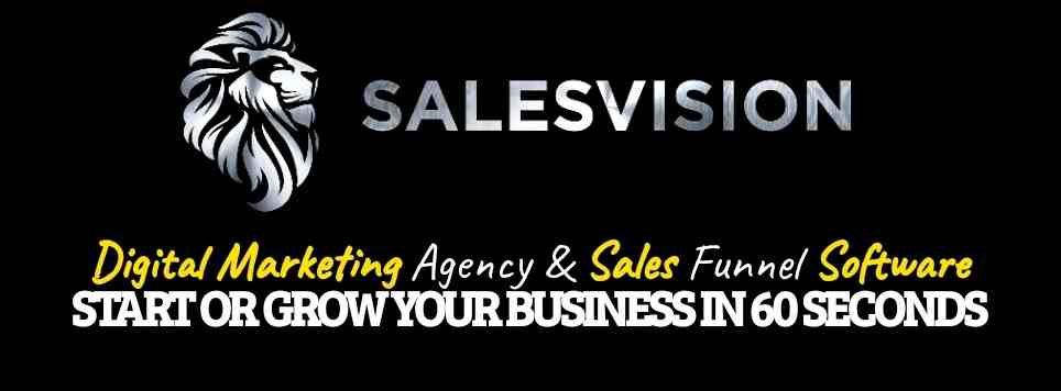 What Is SalesVision - Landing Page