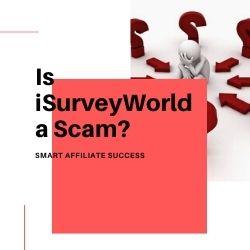 Is iSurveyWorld a Scam Image Summary