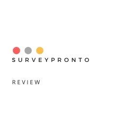 SurveyPronto Review Image Summary