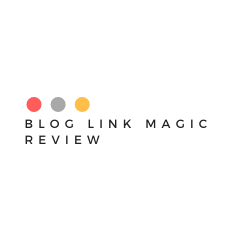 Blog Link Magic Review Image Summary
