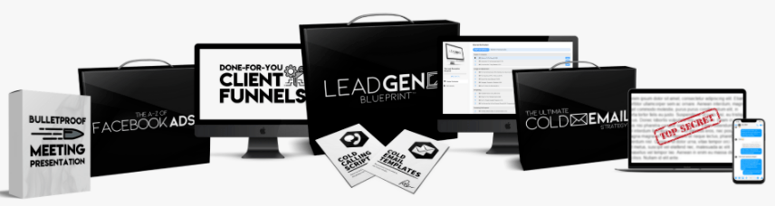 The Lead Generation Blueprint - Landing Page