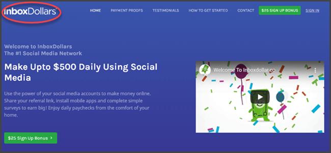 What Is RewardDollars - Landing Page