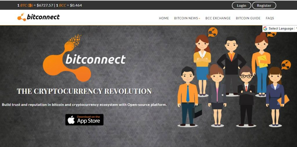 Is BitConnect a Scam - Landing Page
