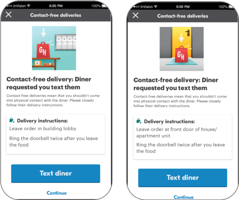 Grubhub Review - Order Delivery