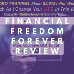 Is Financial Freedom Forever a Scam Image Summary