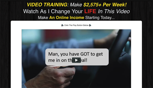 Is Financial Freedom Forever a Scam - Landing Page