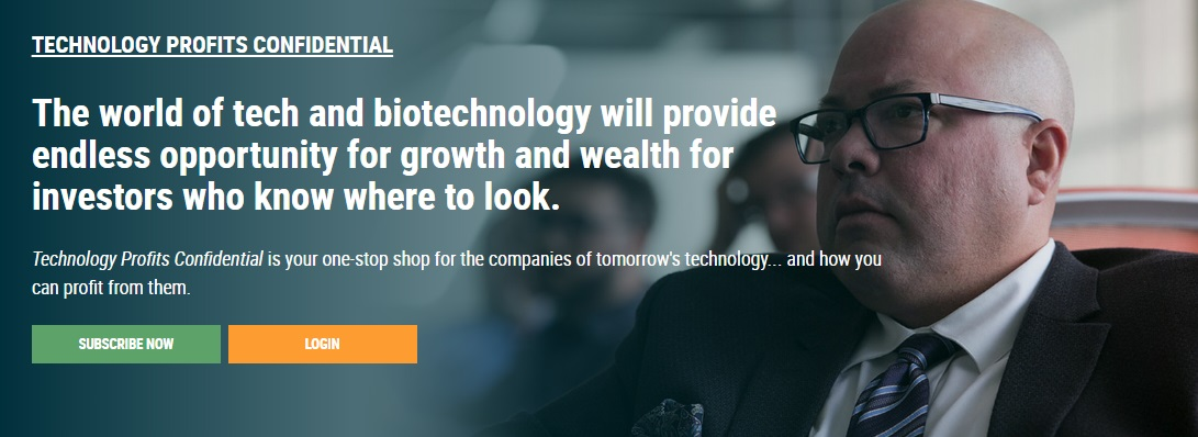 Technology Profits Confidential Review - Landing Page